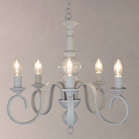 Buy John Lewis Carlita Ceiling Light, 5 Arm, Grey Online at johnlewis.com