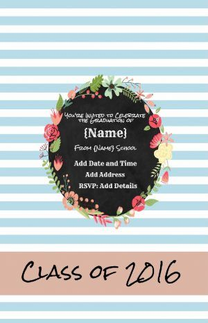Best 25 online invitation maker ideas on pinterest invitation free custom invitation for graduation with your own photo and text customize online with our free invitation maker all text can be edited so it can be stopboris Gallery