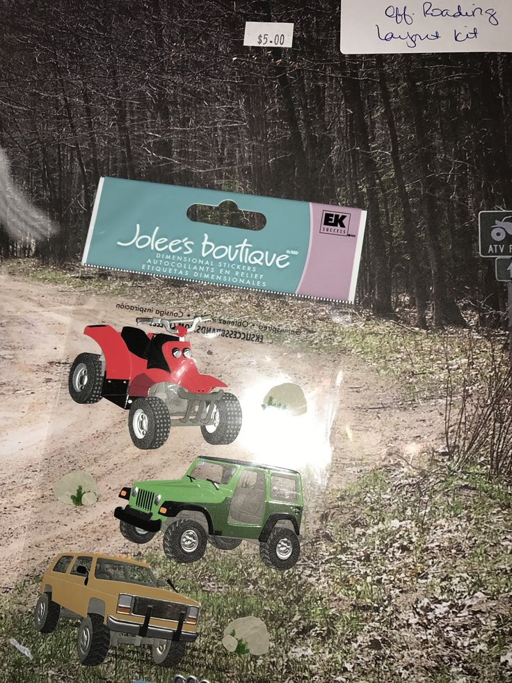 Layout Kit Sports Off Roading Quad ATV