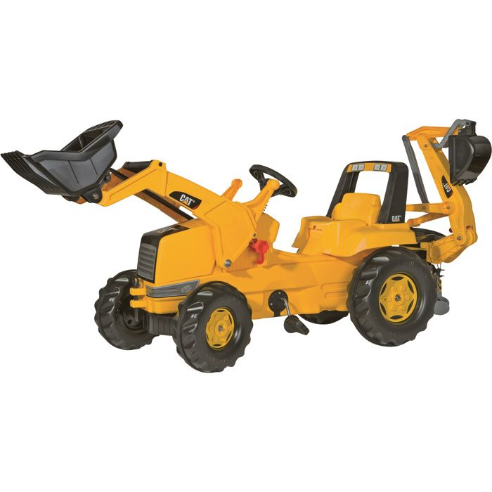 Kettler CAT Backhoe Pedal Tractor | Diggers Ride-Ons| Northern Tool + Equipment