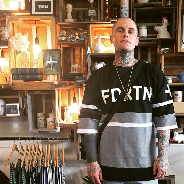 player tee looking good +. @louieknuxxdtd #federationclothing