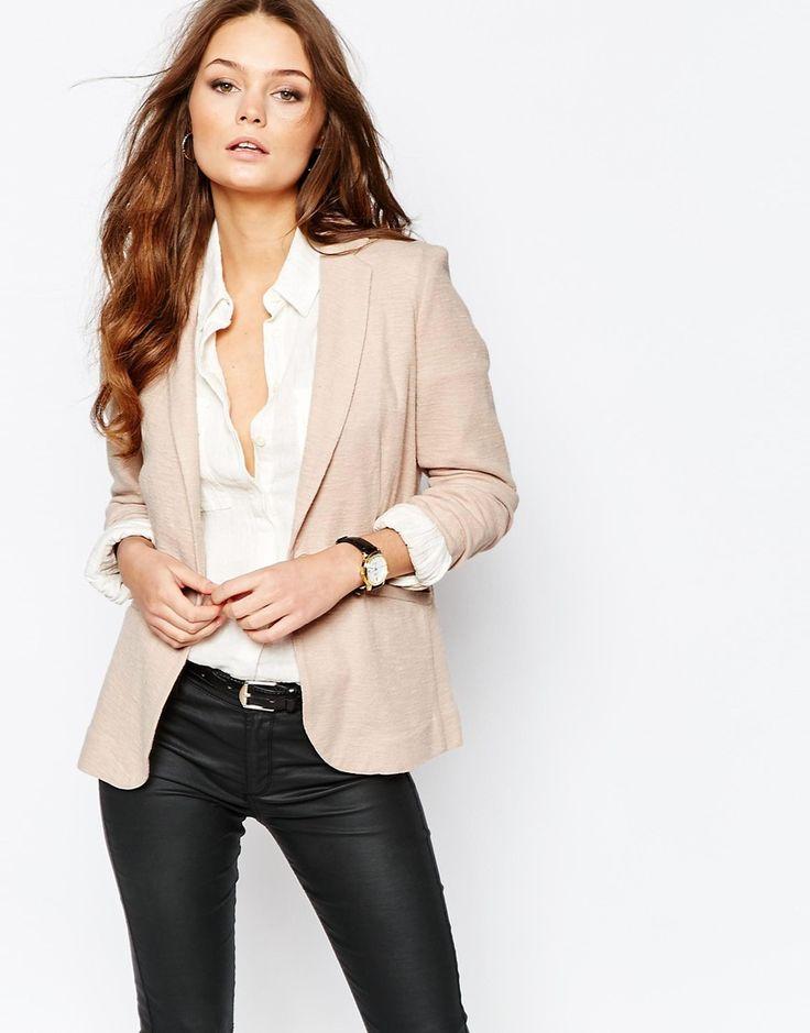 Image 1 ofNew Look Jersey Blazer