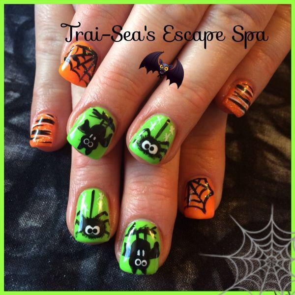 Halloween Nails by Trai-Sea's Escape Spa