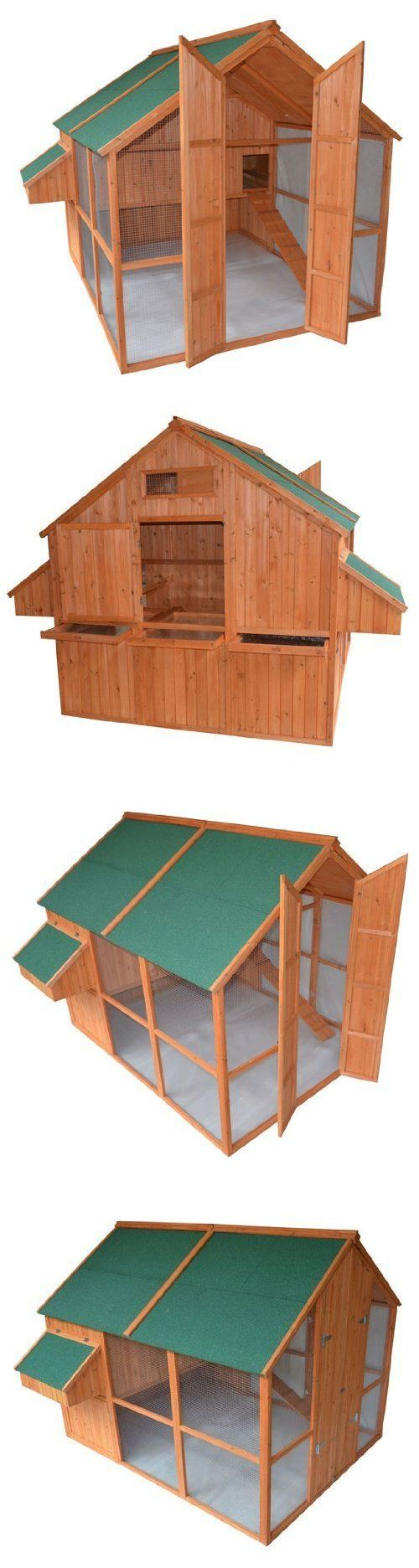 Backyard Poultry Supplies 177801: Extra Large Backyard Chicken Coop Hen House W/Run Outdoor Cage Pet Supplies -> BUY IT NOW ONLY: $986.93 on eBay!