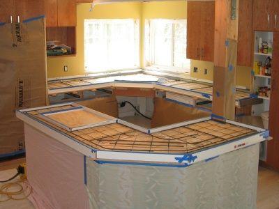 Poured In Place Concrete Countertops Have Some Advantages Over Precast Concrete  Countertops. A Cast In Place Concrete Countertop Is Done At The Jobsite Or  ...