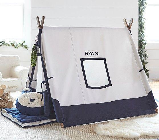 Navy A-frame Tent | Pottery Barn Kids