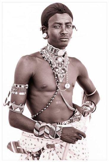 Northern Kenyan portraits taken by John Kenny