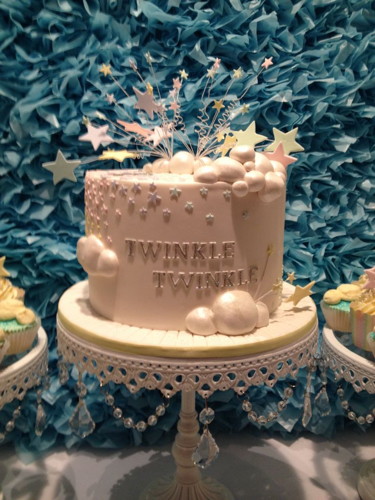 Twinkle Twinkle Little Star Cake. By D'lish Cupcakes & Accessories
