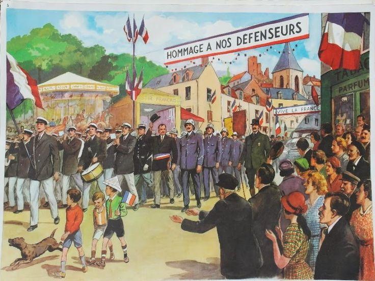 """Affiche """"Défilé militaire"""" (élocution Mdi)"""