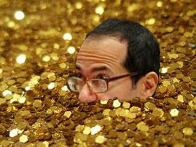 John Paulson gets deeper into Gold.