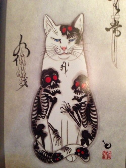monmon cat skeletons
