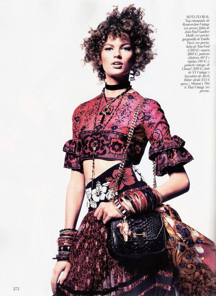 Uno, Dos, Tres … Mambo! | Bette Franke | Jason Kibbler #photography | Vogue Spain March 2012