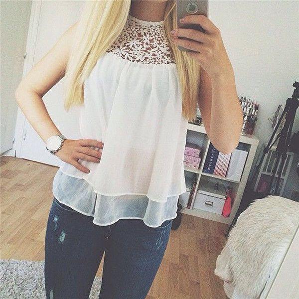 blusa de chifon moda 2015 - Buscar con Google
