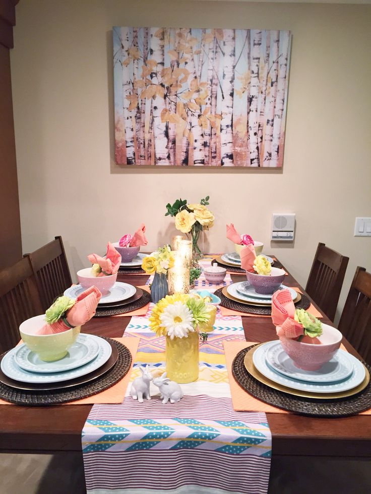 Easter Table @homegoods