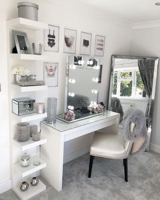 Vanity Table Ideas Makeup Desk Beauty Room