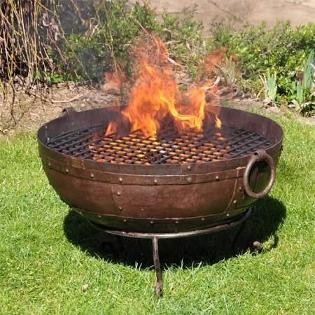 cast iron fire pit - Google Search