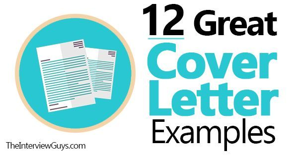 12 Great Cover Letter Examples For 2019