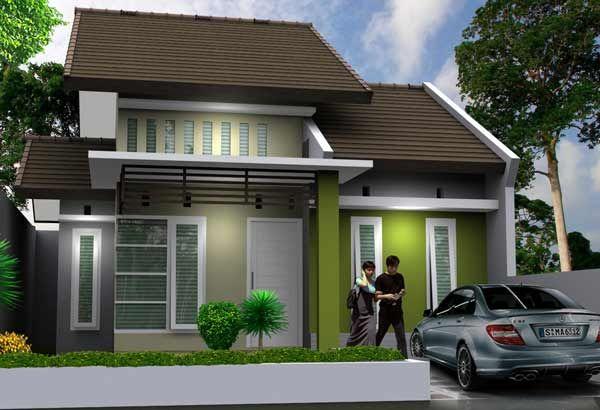 Model Rumah Minimalis Type 36 72 Rumah Minimalis Arsitektur Desain Rumah