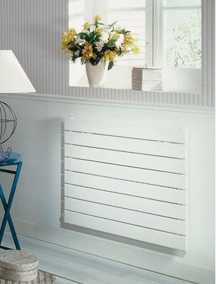 Zehnder Altai Horizontal VY Range of Single Panel Radiator in White Cast Iron Radiators - Period Radiators, Traditional Radiators, Designer Radiators, Contemporary Radiators, Modern Radiators UK