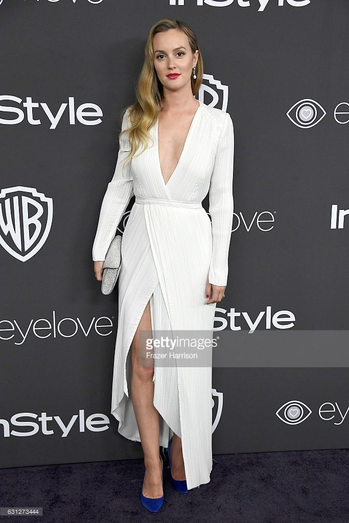 Actress Leighton Meester attends the 18th Annual Post-Golden Globes Party hosted by Warner Bros. Pictures and InStyle at The Beverly Hilton Hotel on January 8, 2017 in Beverly Hills, California.
