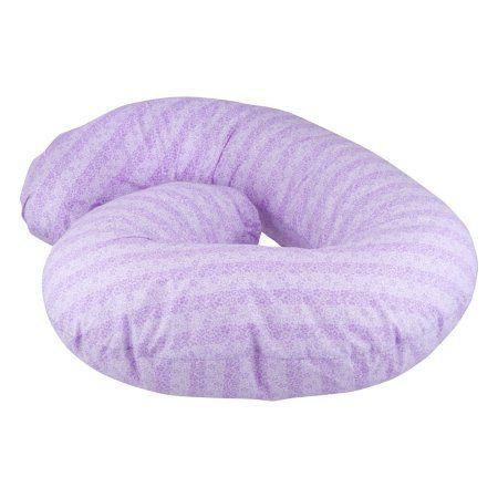 Sleeper Keeper Mini Maternity Pillow by Leachco, Vintage Lilac, Purple
