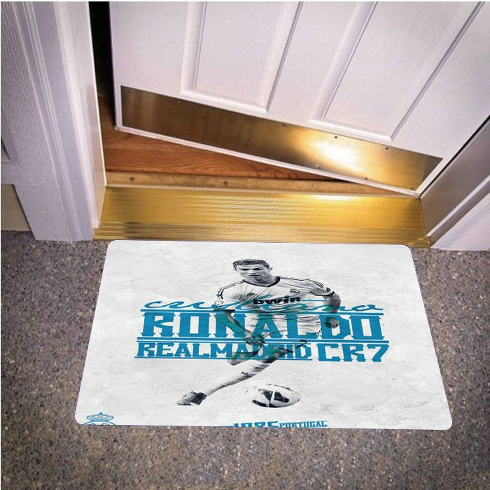 CRISTIANAL RONALDO REAL MADRID BEDROOM CARPET BATH OR DOORMATS