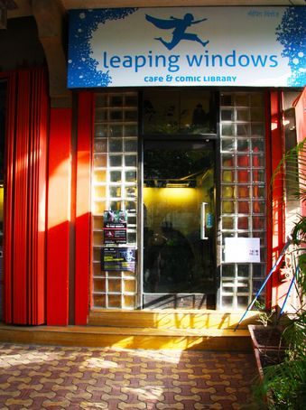 Leaping Windows is my run-to cafe on Sunday afternoons! If heaven had comics it would look like Leaping Windows Cafe. This cafe has one of the most interesting comic library in Mumbai, and serves absolutely delicious food to accompany you while you're lost in another world. Read my review on Leaping Windows to know more about this beautiful comic cum cafe!