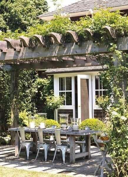 Arbor trellis garden and outdoors pinterest outdoor for Garden getaway designs
