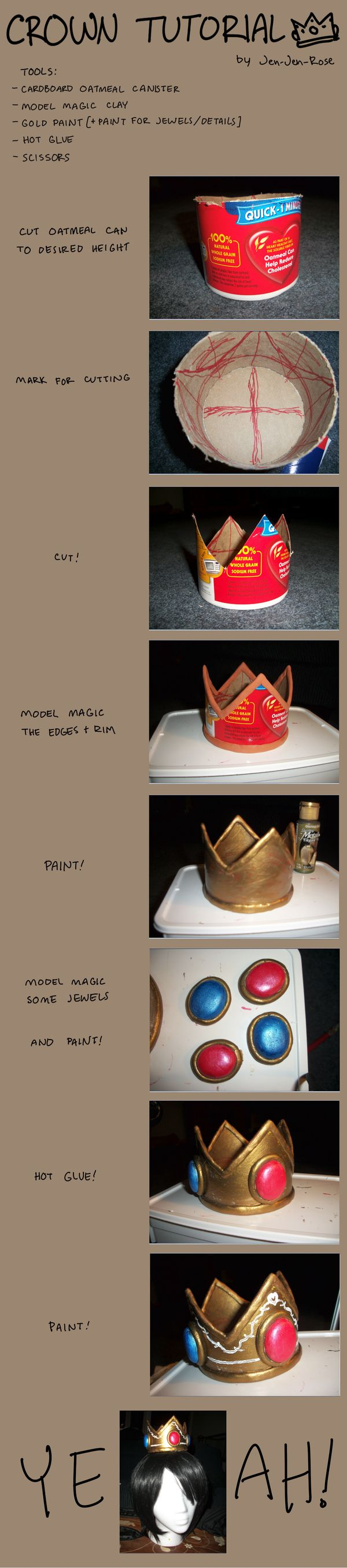 Crown Tutorial by ~Jen-Jen-Rose on deviantART