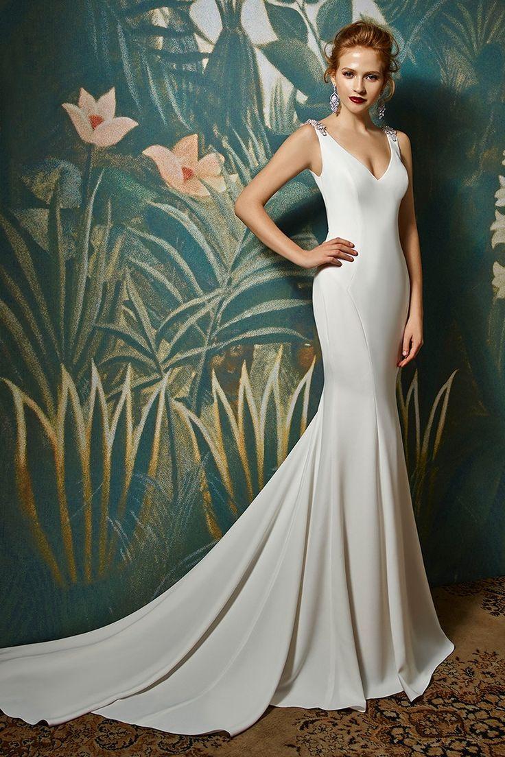 Janine Mermaid Wedding Dress By Blue By Enzoani Weddingwire Com Enzoani Wedding Dresses Perfect Wedding Dress Bridal Gowns [ 1104 x 736 Pixel ]