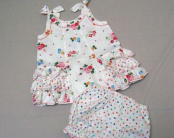 Patrón de costura de bebé soleado vestido y por FelicityPatterns
