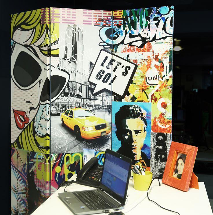Ev ve ofis dekorasyonlarınızı renklendirmeye hazır mısınız? Pop art deseni ile yaşam alanlarınıza daha dinamik bir ayrıntı katacak Pop Art Paravan, siz değerli Dekorazon.com müşterilerimiz için kısa bir süreliğine yalnızca 129.99 TL!  #DekorazonCom >> http://www.dekorazon.com/pop-art-paravan-detayi-34318?utm_source=Pinterest&utm_medium=post&utm_campaign=Popart-paravan-18.8.15