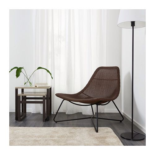 Ikea armchair, Dark-Brown/black RÅDVIKEN