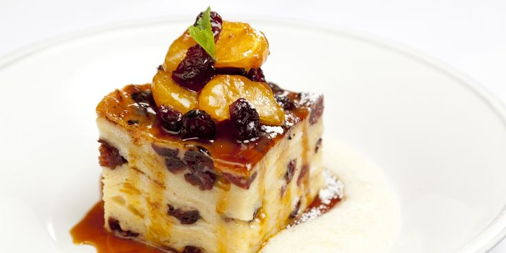 James Mackenzie puts a brilliantly festive twist on this classic dessert, resulting in a luxuriously comforting dish