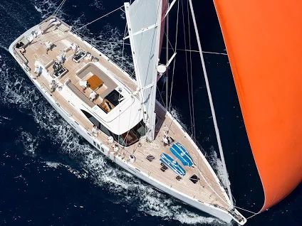 Stunning #SYMaegan. This exclusive event,  #LoroPianaCaribbeanSuperyachtRegattaRendezvous, brings together #sail and #motoryachts during a four-day event for owners, their families and friends organised by Boat International. www.horizonme.eu