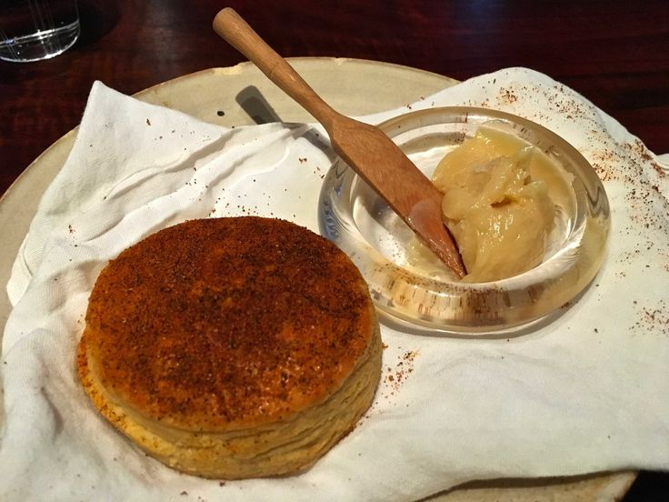 #biscuit and #honeybutter #saison in #sanfrancisco #finedining #food