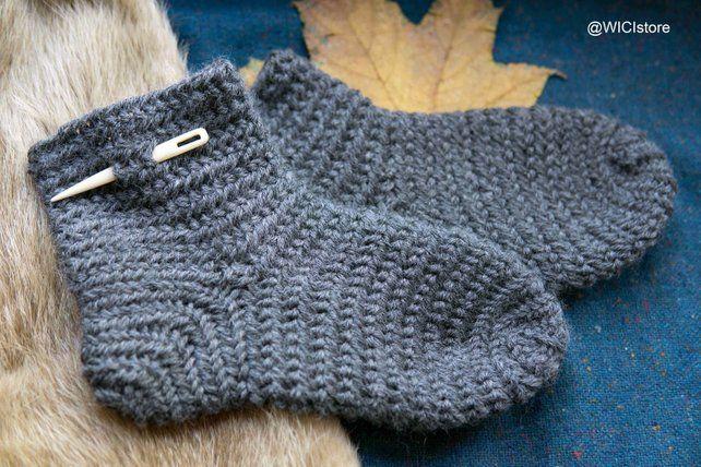 made to order- Viking kids clothes needlebound socks superwash 100/% wool custom Nalbinding socks for kids