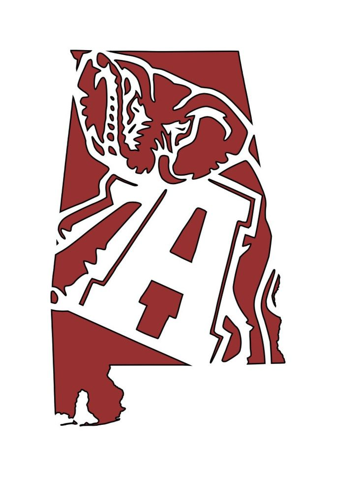 Crimson Tide, Alabama, Roll tide, SEC, College Football, Decal by CustomsbyTP on Etsy