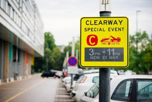 """World's first"" E paper traffic signs installed in Australia 7/27/15 The signs were developed by Slovenian firm Visionect"