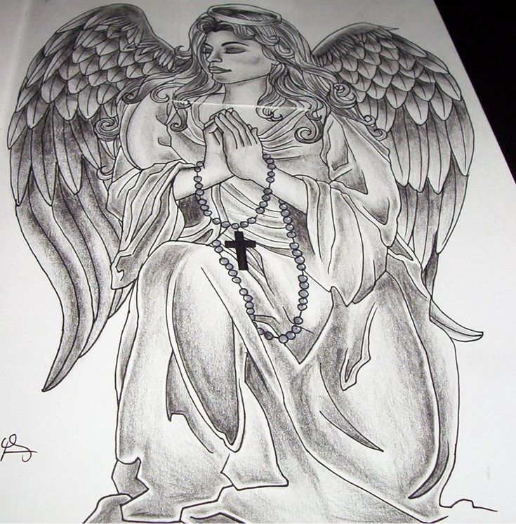 wonderful praying angel tattoo angel tattoo pinterest
