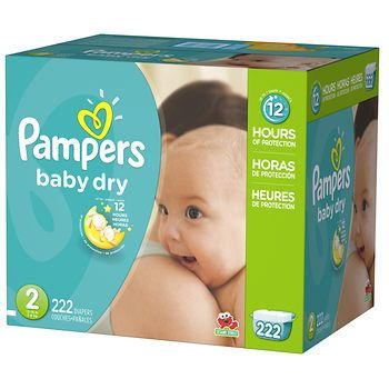 Pampers Baby Dry Size 2 Diapers, 222 ct. - BJ's Wholesale Club 42