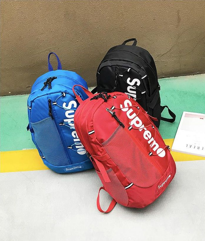 Supreme Backpack Rucksack School College Outdoor Bag Unisex Fashion Nylon   fashion  clothing  shoes  accessories  mensaccessories  bags (ebay link) 3dcbc1338dc5d