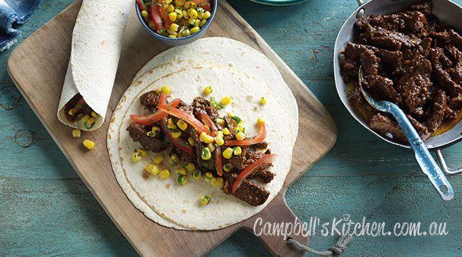 Real beef burritos