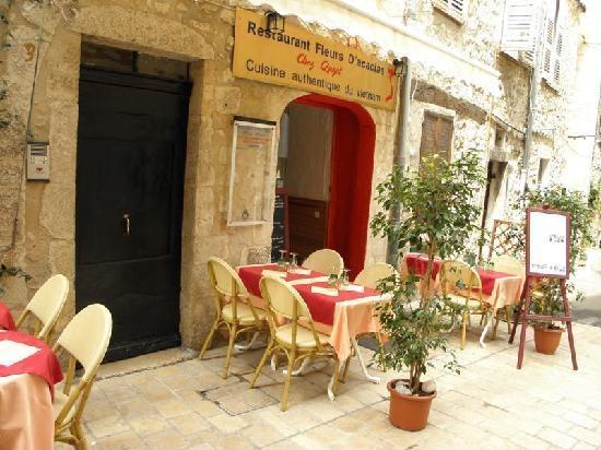 Restaurant Fleurs d'Acacias: Restaurant Fleurs