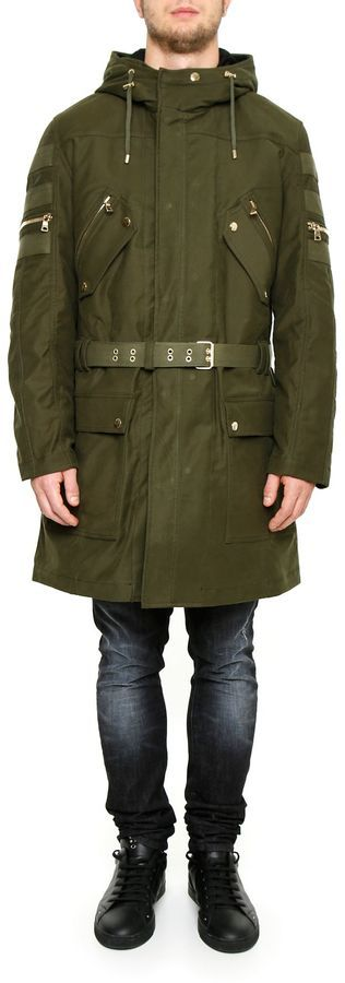 Balmain Hooded Parka