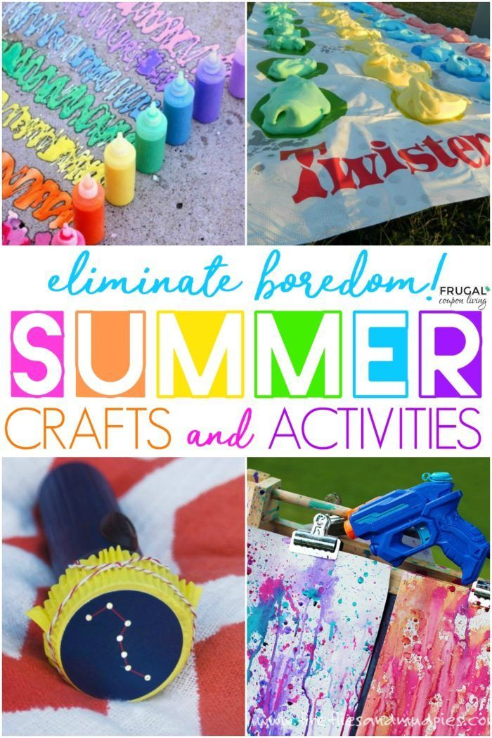 Summer Fun Ideas All Things Creative Craft Activities For Kids