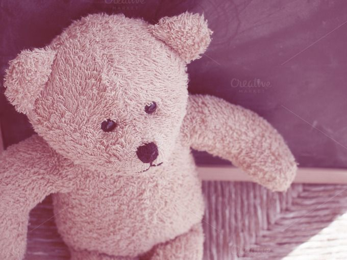 Teddy bear vintage mood by Life Morning Photography on Creative Market