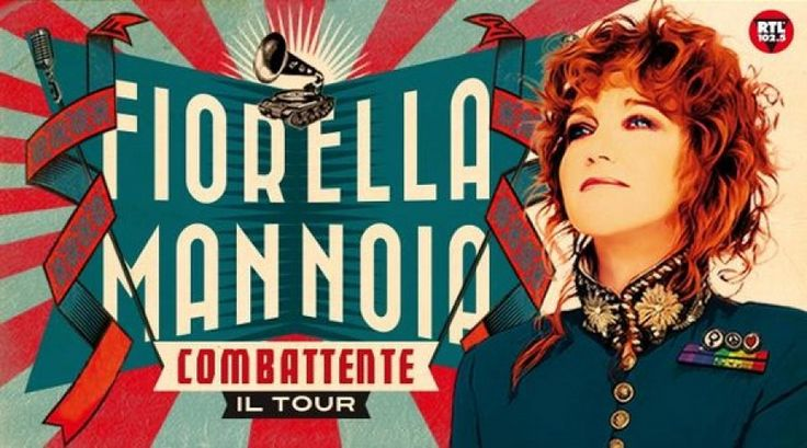 """Fiorella Mannoia e il suo """"Combattente Tour"""""""