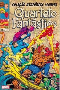 LIGA HQ - COMIC SHOP COLECAO HISTORICA QUARTETO FANTASTICO #3 - Quarteto Fantástico - Marvel PARA OS NOSSOS HERÓIS NÃO HÁ DISTÂNCIA!!!