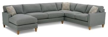 Townsend sectional contemporary sectional sofas rowe for Albany st germain sectional sofa chaise